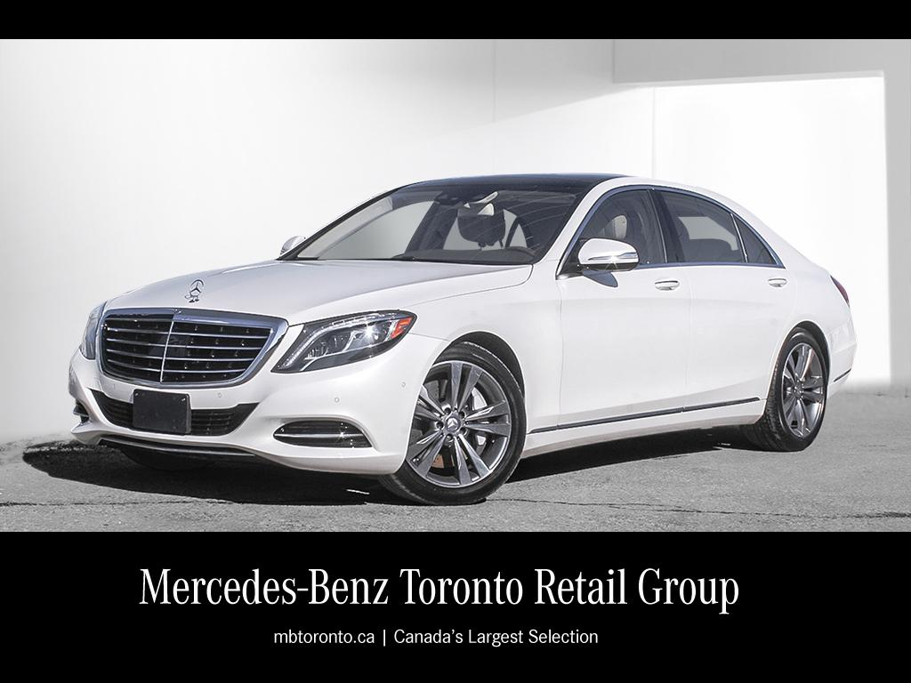 Certified pre owned 2014 mercedes benz s class s550 4 door for Pre owned mercedes benz s class
