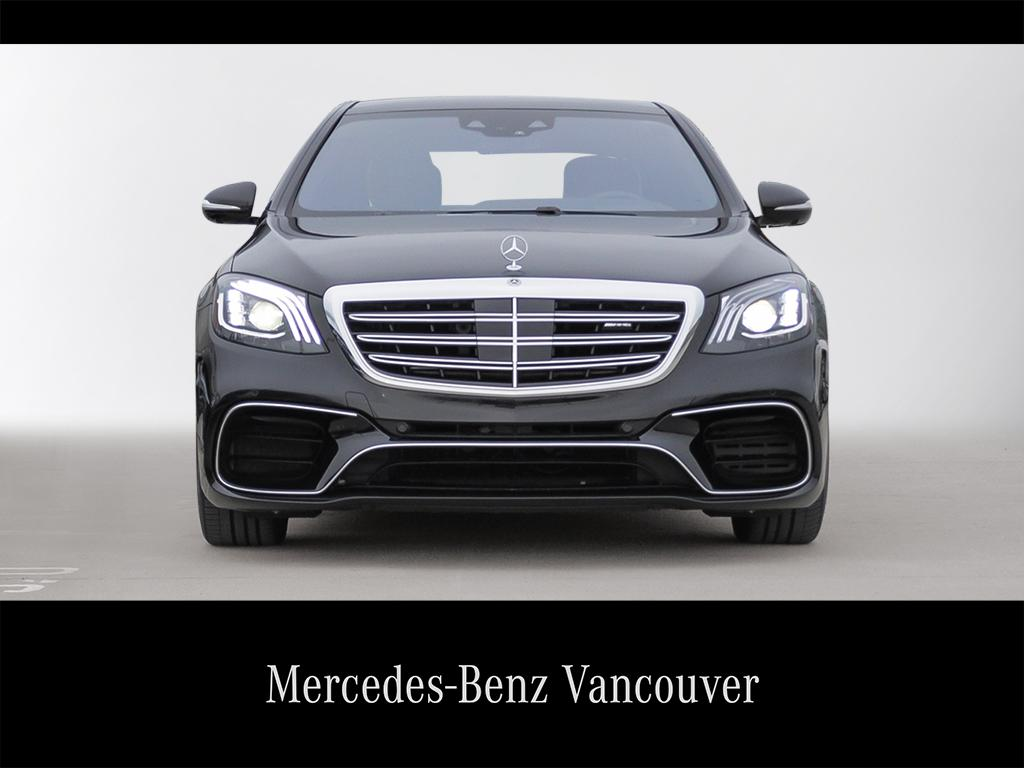 Certified Pre-Owned 2018 Mercedes-Benz S-CLASS S63 AMG