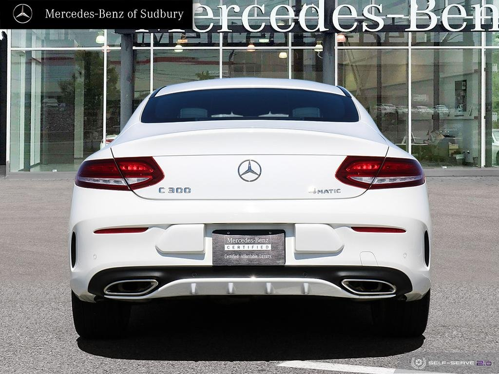Certified Pre-Owned 2017 Mercedes-Benz C-Class C300 4MATIC Coupe