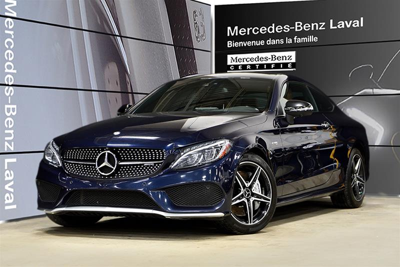 Certified Pre-Owned 2017 Mercedes-Benz C-CLASS C43 AMG
