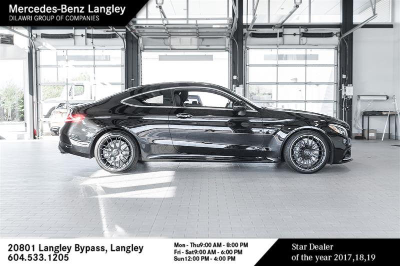 Certified Pre-Owned 2017 Mercedes-Benz C-CLASS C63 AMG