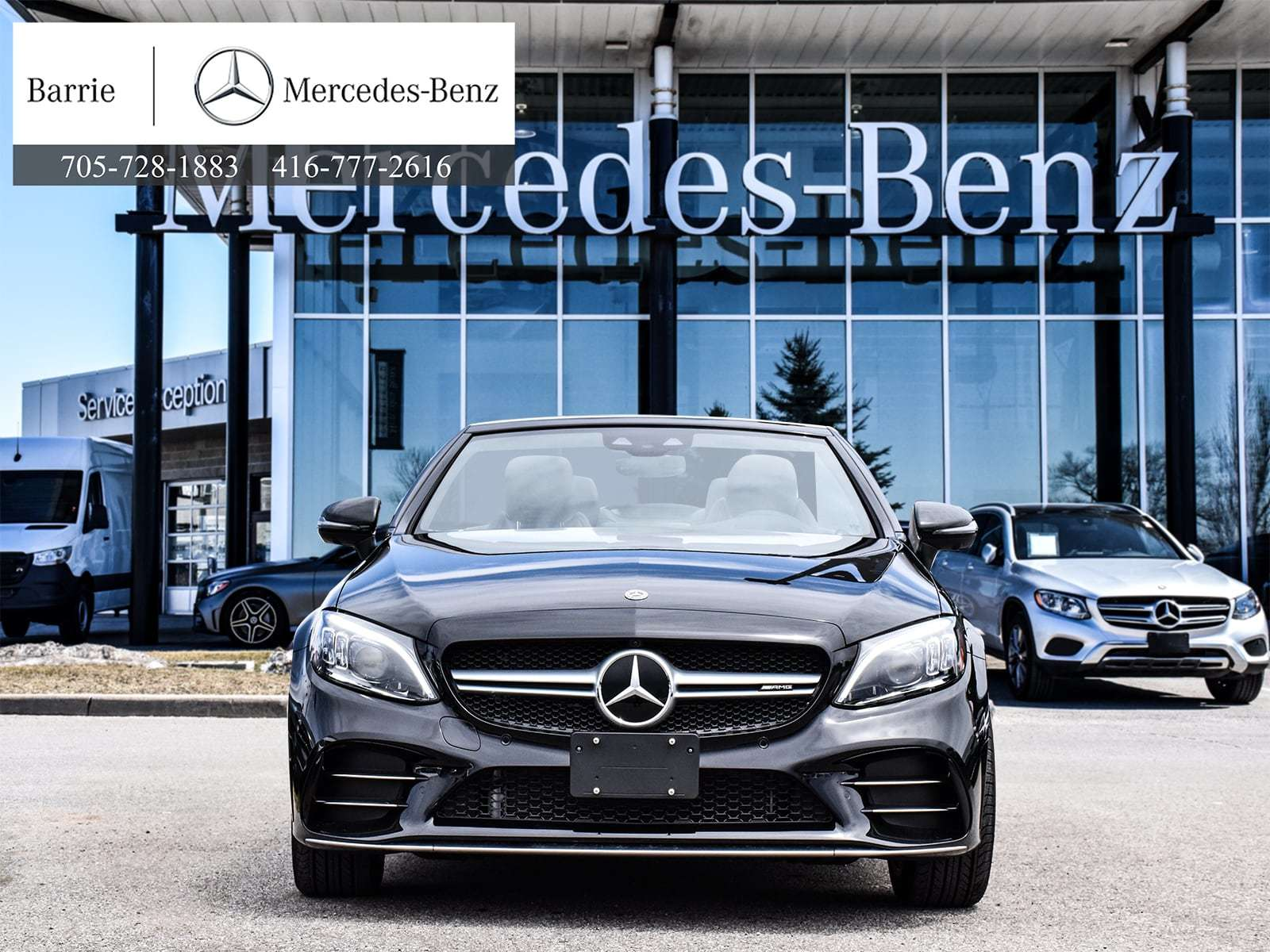 Pre-Owned 2019 Mercedes-Benz C-CLASS C43 AMG