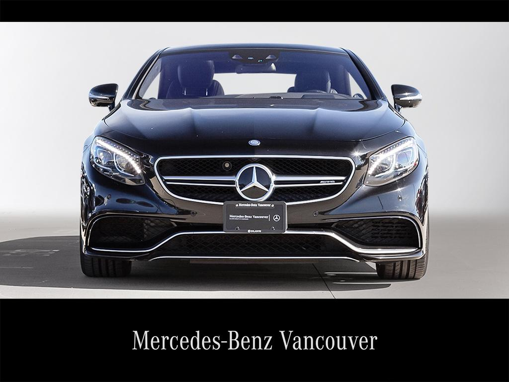 Certified Pre-Owned 2015 Mercedes-Benz S-CLASS S63 AMG
