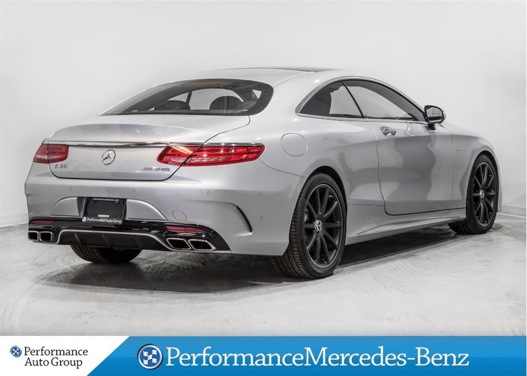 Certified pre owned 2016 mercedes benz s class s63 amg 4 for Pre owned s class mercedes benz
