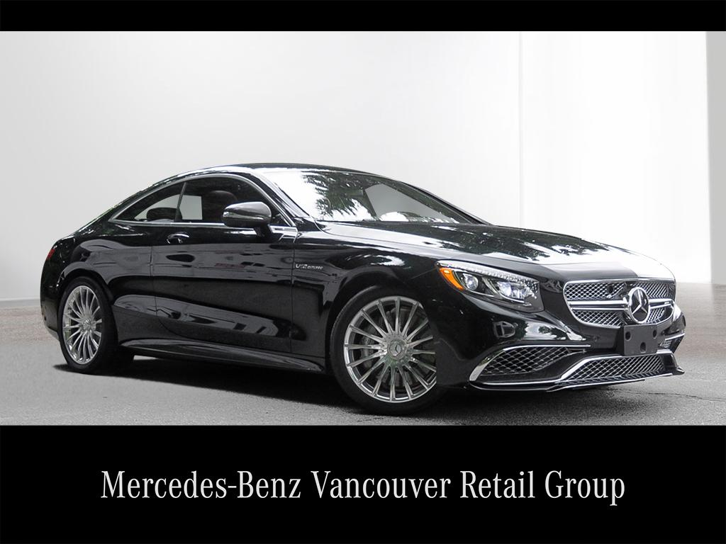 Certified pre owned 2016 mercedes benz s class s65 amg 2 for Pre owned mercedes benz s class