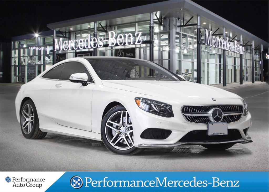 Certified pre owned 2015 mercedes benz s class s550 2 door for Mercedes benz canada pre owned