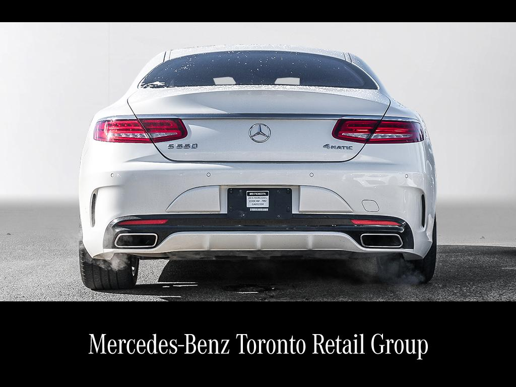 Certified pre owned 2016 mercedes benz s class s550 2 door for Pre owned mercedes benz s class