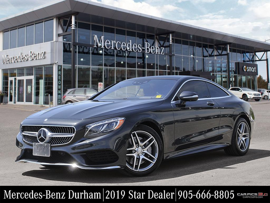 Certified Pre Owned 2016 Mercedes Benz S CLASS S550
