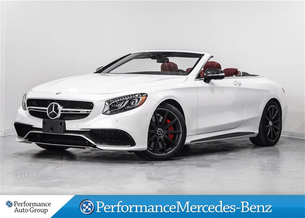 certified pre owned 2017 mercedes benz s class s63 amg convertible 30pu120 mercedes benz of. Black Bedroom Furniture Sets. Home Design Ideas