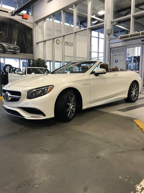 Pre-Owned 2017 Mercedes-Benz S-CLASS S63 AMG