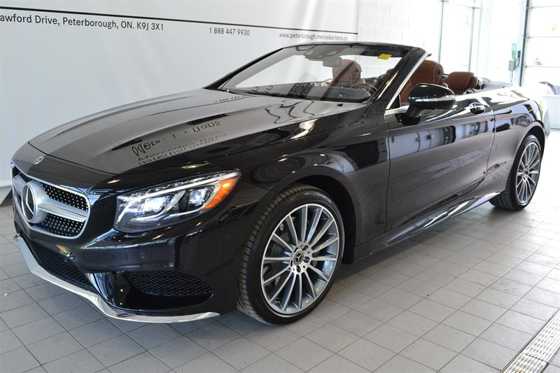 certified pre owned 2017 mercedes benz s class s550 cabriolet n1800 mercedes benz canada new. Black Bedroom Furniture Sets. Home Design Ideas