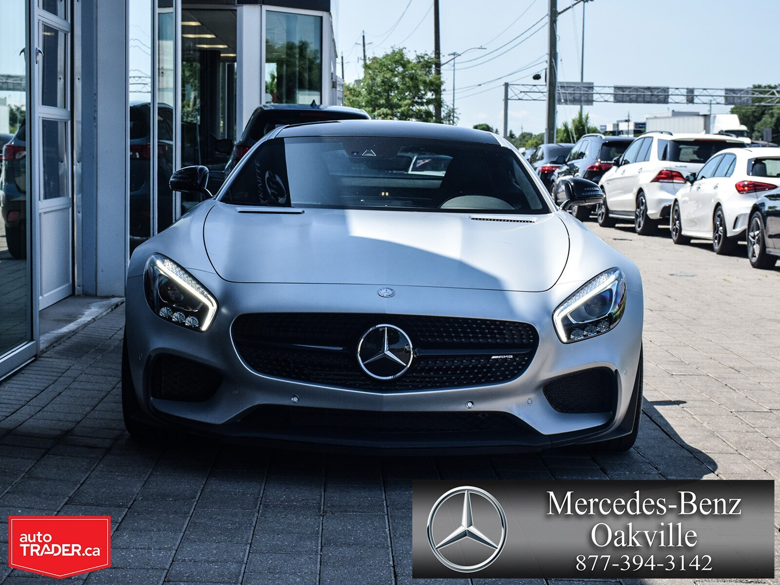 Certified Pre-Owned 2017 Mercedes-Benz GT-CLASS AMG GT S
