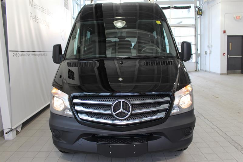 New 2017 mercedes benz sprinter 2500 passenger sprinter v6 for Mercedes benz sprinter canada
