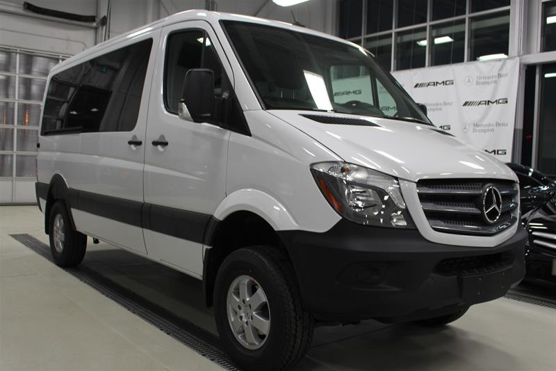 Demo 2017 mercedes benz sprinter 2500 passenger sprinter for Mercedes benz 4x4 2017