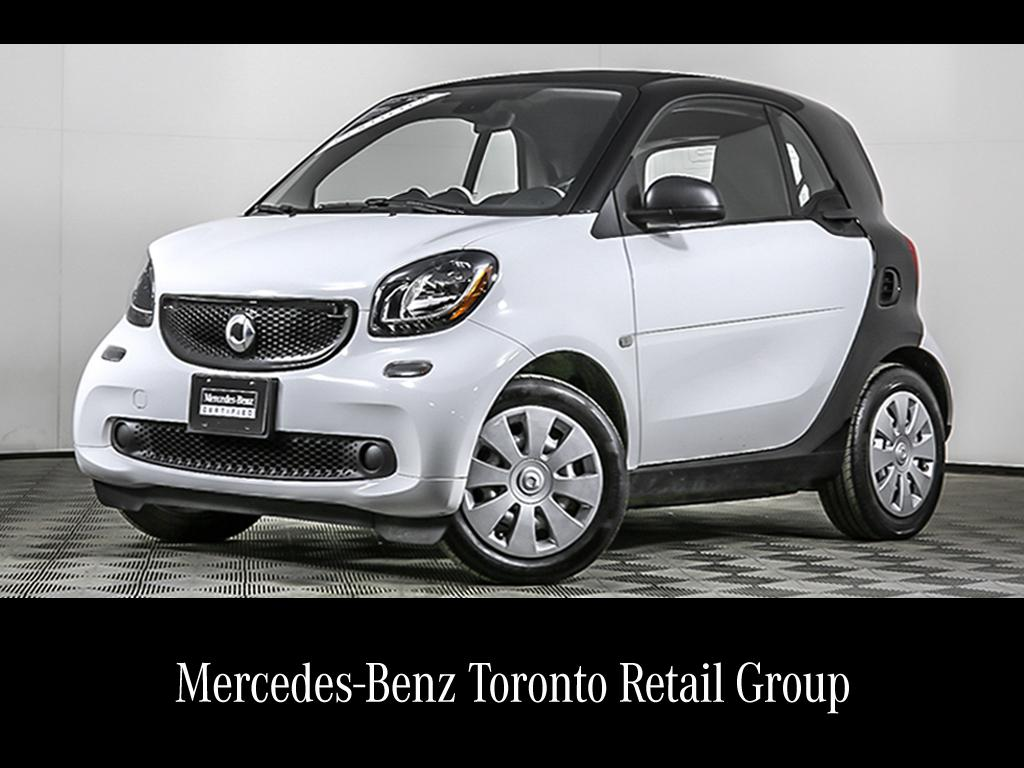 Certified Pre Owned 2017 Smart Fortwo Coupe