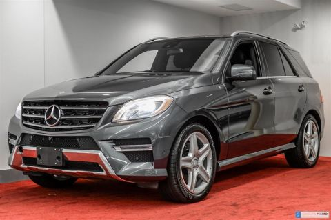 Pre-Owned 2014 Mercedes-Benz ML-CLASS ML350