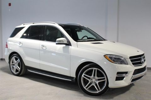 Pre-Owned 2013 Mercedes-Benz ML-CLASS ML550
