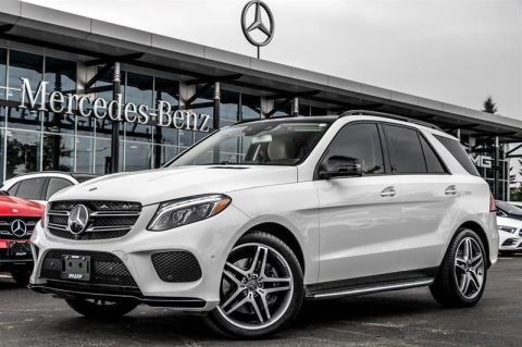 Certified Pre-Owned 2017 Mercedes-Benz GLE GLE550