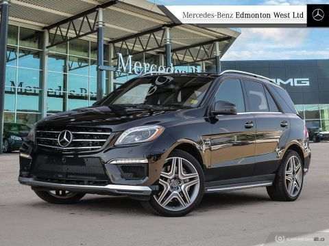 Certified Pre-Owned 2015 Mercedes-Benz ML-CLASS ML63 AMG
