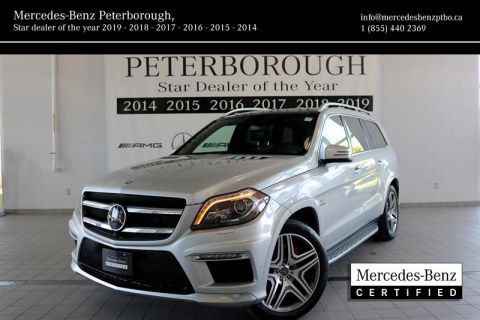 Certified Pre-Owned 2016 Mercedes-Benz GL-CLASS GL63 AMG