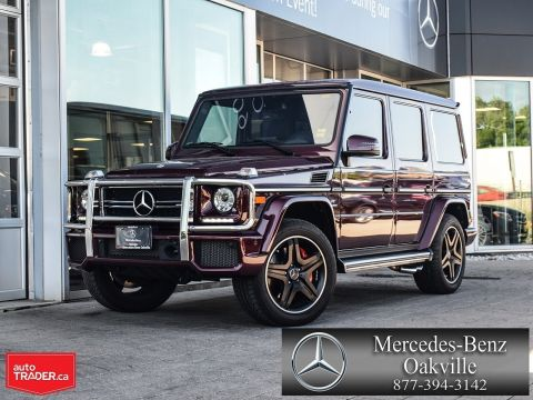 Certified Pre-Owned 2018 Mercedes-Benz G-CLASS G63 AMG