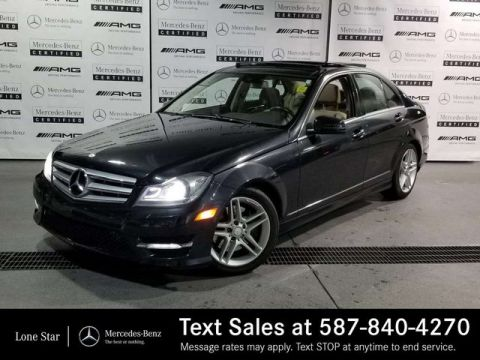 Pre-Owned 2012 Mercedes-Benz C-CLASS C300