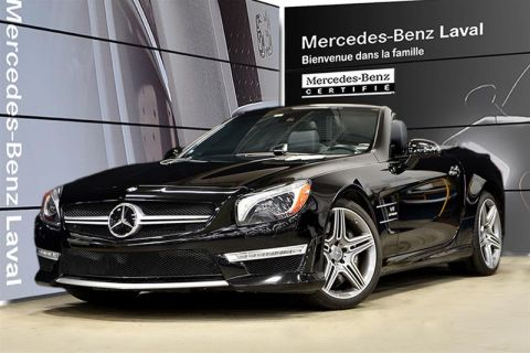 Pre-Owned 2014 Mercedes-Benz SL-CLASS SL63 AMG