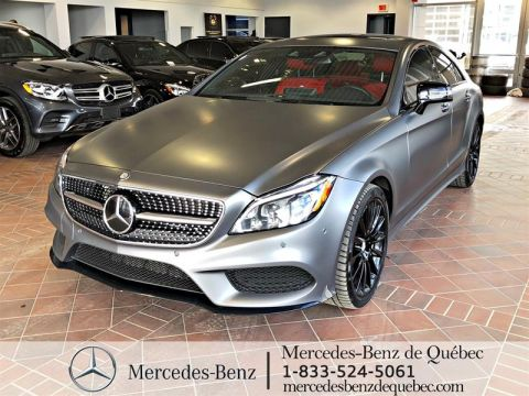 Certified Pre-Owned 2017 Mercedes-Benz CLS CLS550