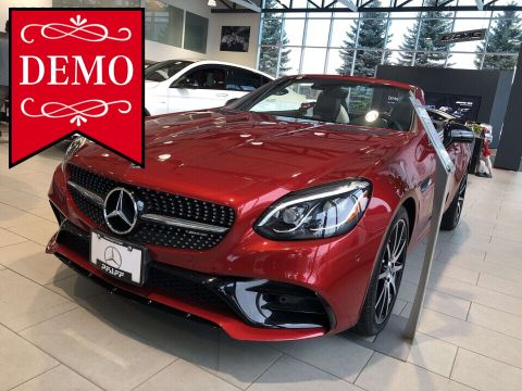 Certified Pre-Owned 2018 Mercedes-Benz SLC SLC43 AMG