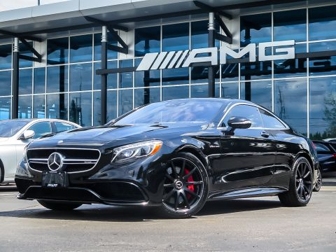 Certified Pre-Owned 2016 Mercedes-Benz S-CLASS S63 AMG